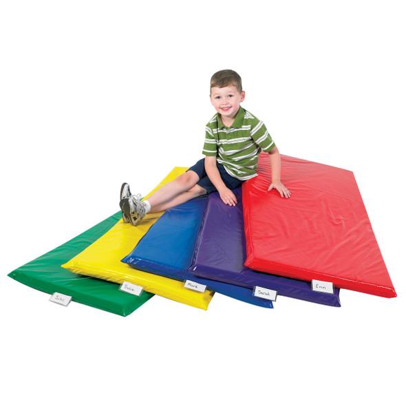 Rainbow Rest Mats - Set of 5 Colors