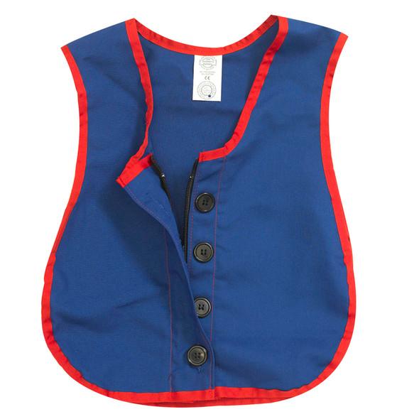 Manual Dexterity Combo Zipper/Button Vest