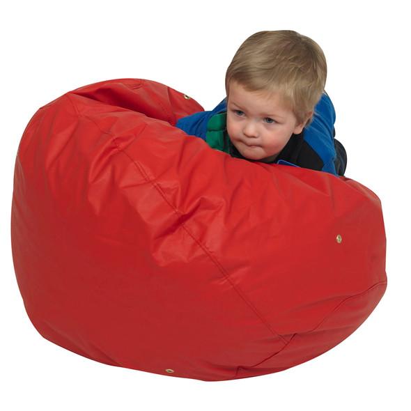 "26"" Foam Filled Bean Bag - Red"