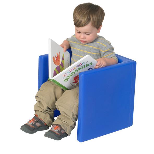Chair Cube - Blue