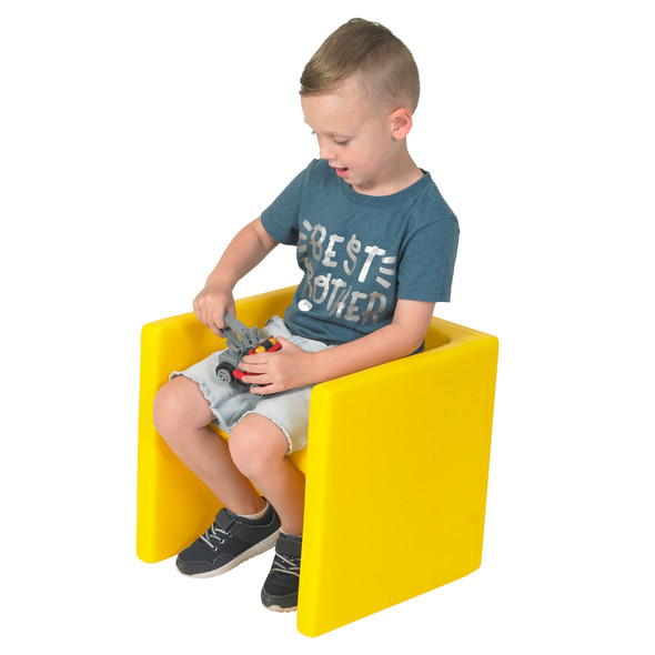 Chair Cube - Yellow