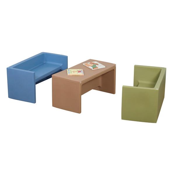 Woodland Adapta-Benches® - Set of 3