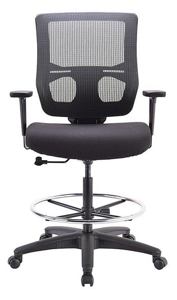 Eurotech Apollo II EHS5499 Extended Height Stool Mesh / Fabric Black