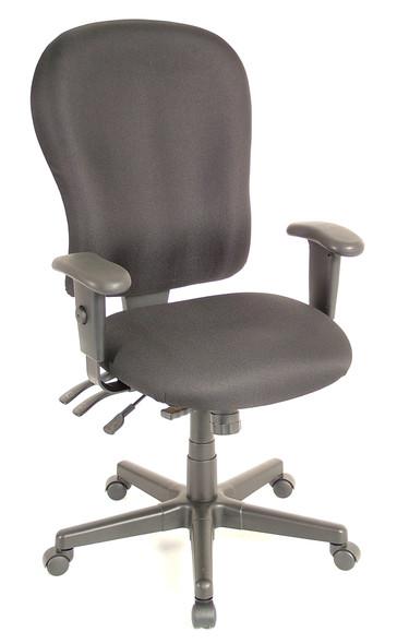 Eurotech 4x4XL FM4080 Highback Swivel Fabric Chair