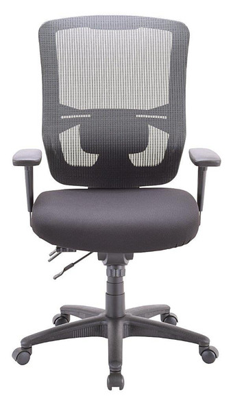 Eurotech Apollo II MFST5400 High Mesh Back and Fabric Seat Black Chair