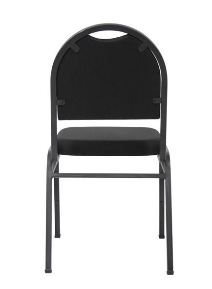 Boss Black Crepe Banquet Chair (set of 4)