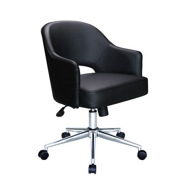 Black CaressoftPlus Hospitality Chair