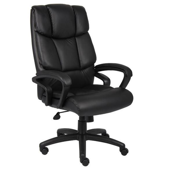 "Boss ""Ntr"" Executive Top Grain Leather Chair W/ Knee Tilt"