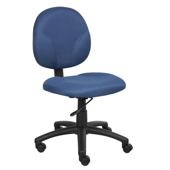 Boss Diamond Task Chair In Blue