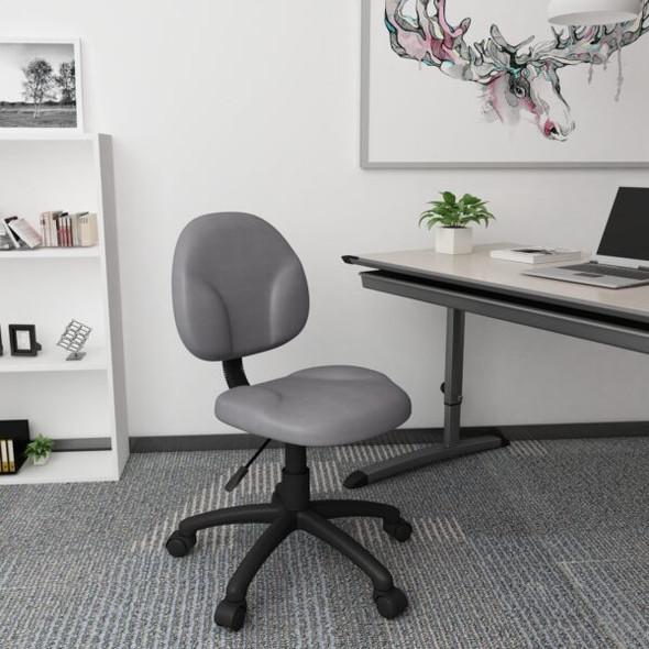 Boss Diamond Task Chair In Grey