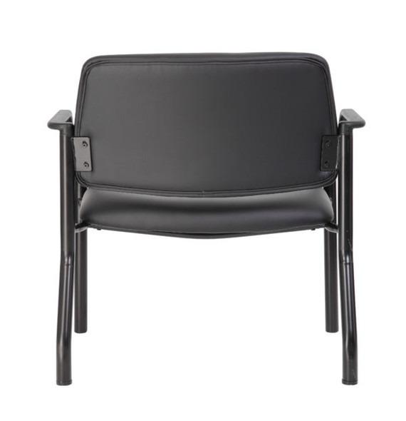 Boss Antimicrobial Guest Chair, 500 lb. weight capacity