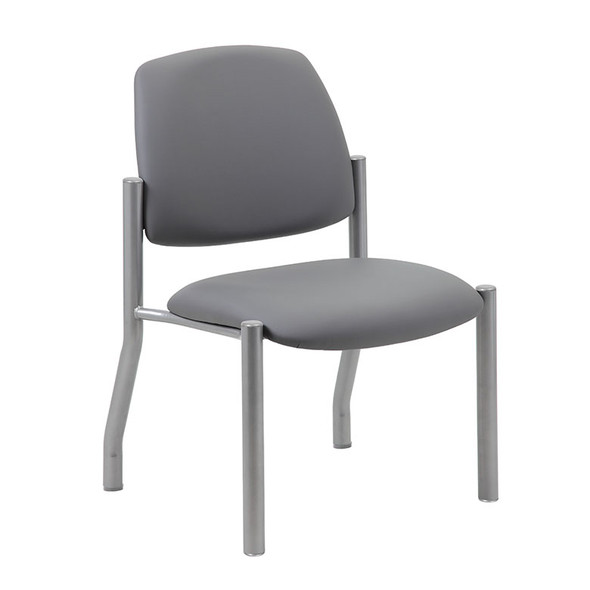 Boss Armless Guest Chair, 300 lb. weight capacity