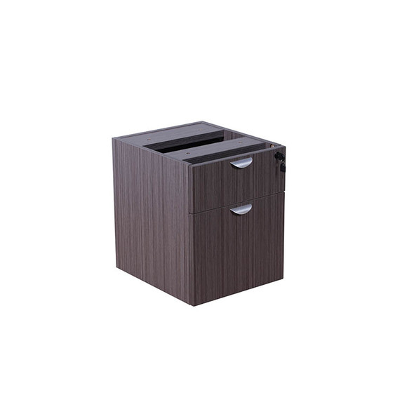 Boss 2 Hanging Pedestal - 3/4 Box/File , Driftwood