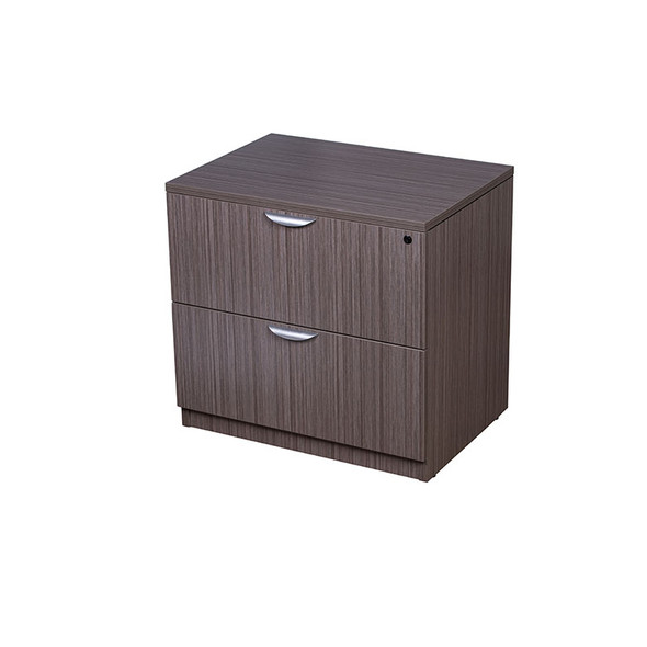 Boss 2-Drawer Lateral File, Driftwood