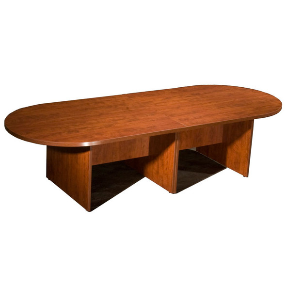Boss 10Ft Race Track Conference Table - Cherry