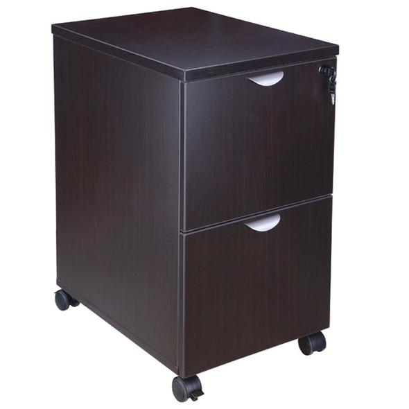 Boss Mobile Pedestal, File/File Mocha 16*22*29.5H