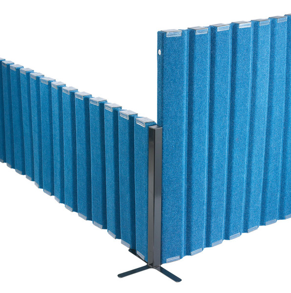 Corner post for the Quiet Dividers® with Sound Sponge®
