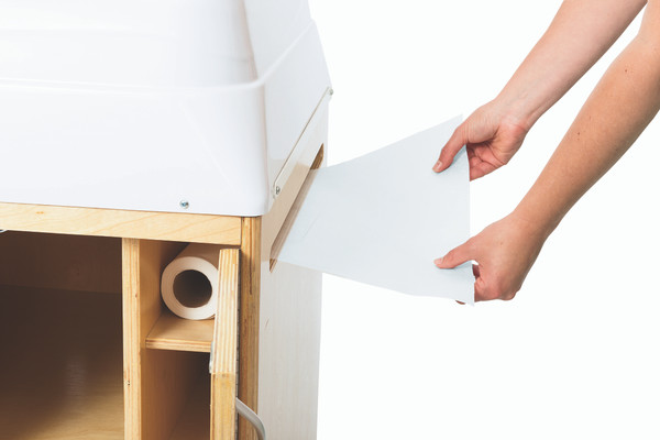 Germ Free Changing Table Paper Roll