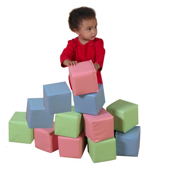 Toddler Baby Blocks - Pastel