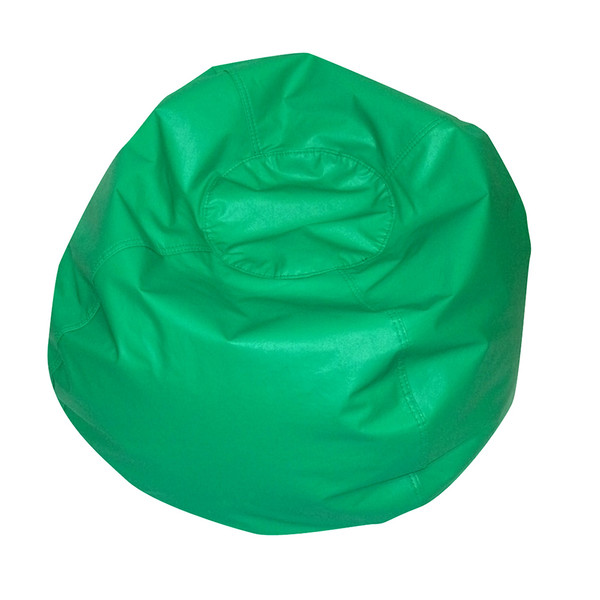 Surprising 35 Round Bean Bag Green Theyellowbook Wood Chair Design Ideas Theyellowbookinfo