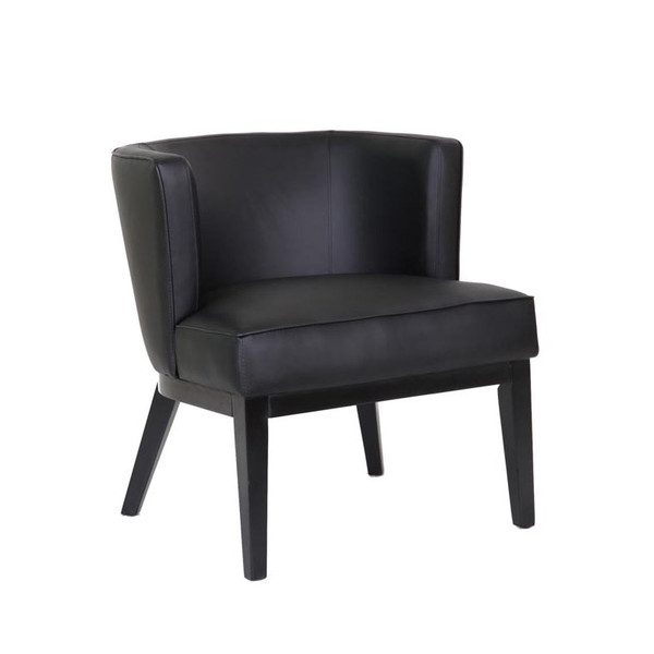 Boss Ava guest, accent or dining chair - Black