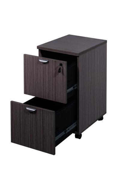 Boss Mobile Pedestal, File/File Driftwood 16*22*29.5H