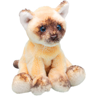 Yomiko Sitting Ragdoll Cat - Soft Toy Kitten by Suki