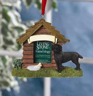 Black Labrador Personalised Magnet/Decoration