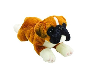 Boxer Dog Soft Toy