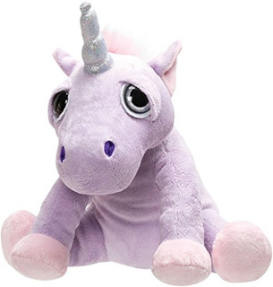 Suki Gifts Li'l Peepers Stuffed Toy, Shimmer Unicorn, Small