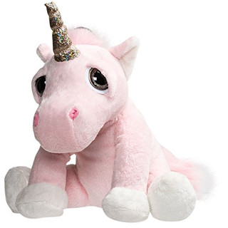 Suki Gifts Li'l Peepers Stuffed Toy, Twinkle Unicorn, Medium
