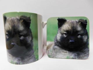 Belgian Malinois Dog Mug and Coaster Set