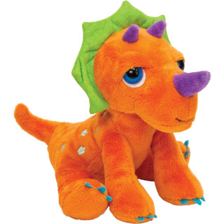 Dino'z Triceratops Dinosaur Soft Toy (Small)