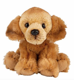Golden Retriever Sitting Cuddly Toy 12.7cm By Suki Gifts