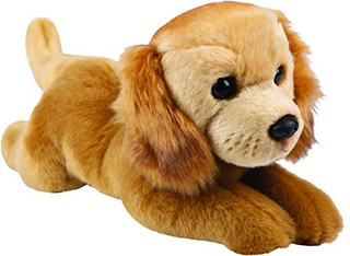 Golden Retriever Dog Resting Soft Toy 30cm By Suki Gifts