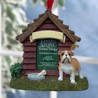 Bulldog Personalised Magnet/ Decoration