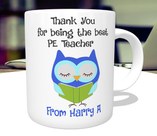 Personalised Thank You Best Teacher Mug Gift