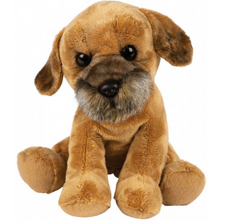 Medium Sitting Border Terrier Soft Toy