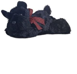 Aurora Lying Scotty Dog Soft Toy, 15 Centimeter