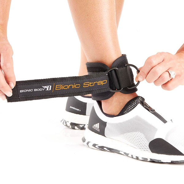 The Bionic Body Ankle and Wrist Strap will bring variety to your resistance band workout - 2
