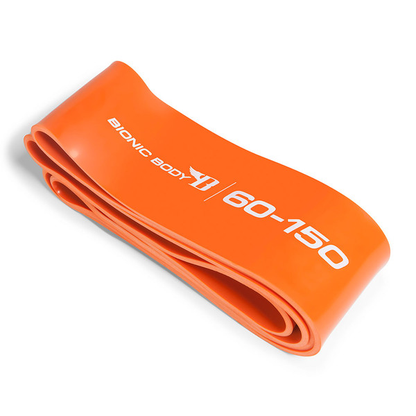 Orange Bionic Body 60 lbs to 150 lbs Super Band outside of the package