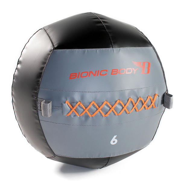 The Bionic Body 6 lb. Medicine Ball add variety to your routine that will take you to the next level