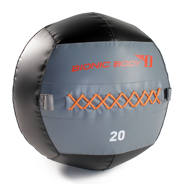 The Bionic Body 20 lb. Medicine Ball provides a wide array of workouts that only a Medicine Ball could provide