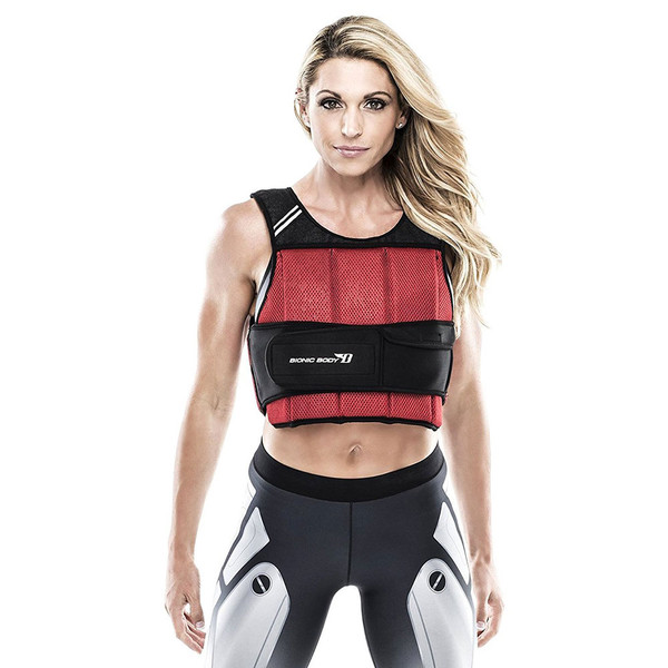 Bionic Body 10lb Weighted Vest worn by Kim Lyons