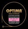 Optima 24K Gold Electric Guitar Strings