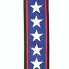 D'Addario Stars & Stripes Padded Guitar Strap