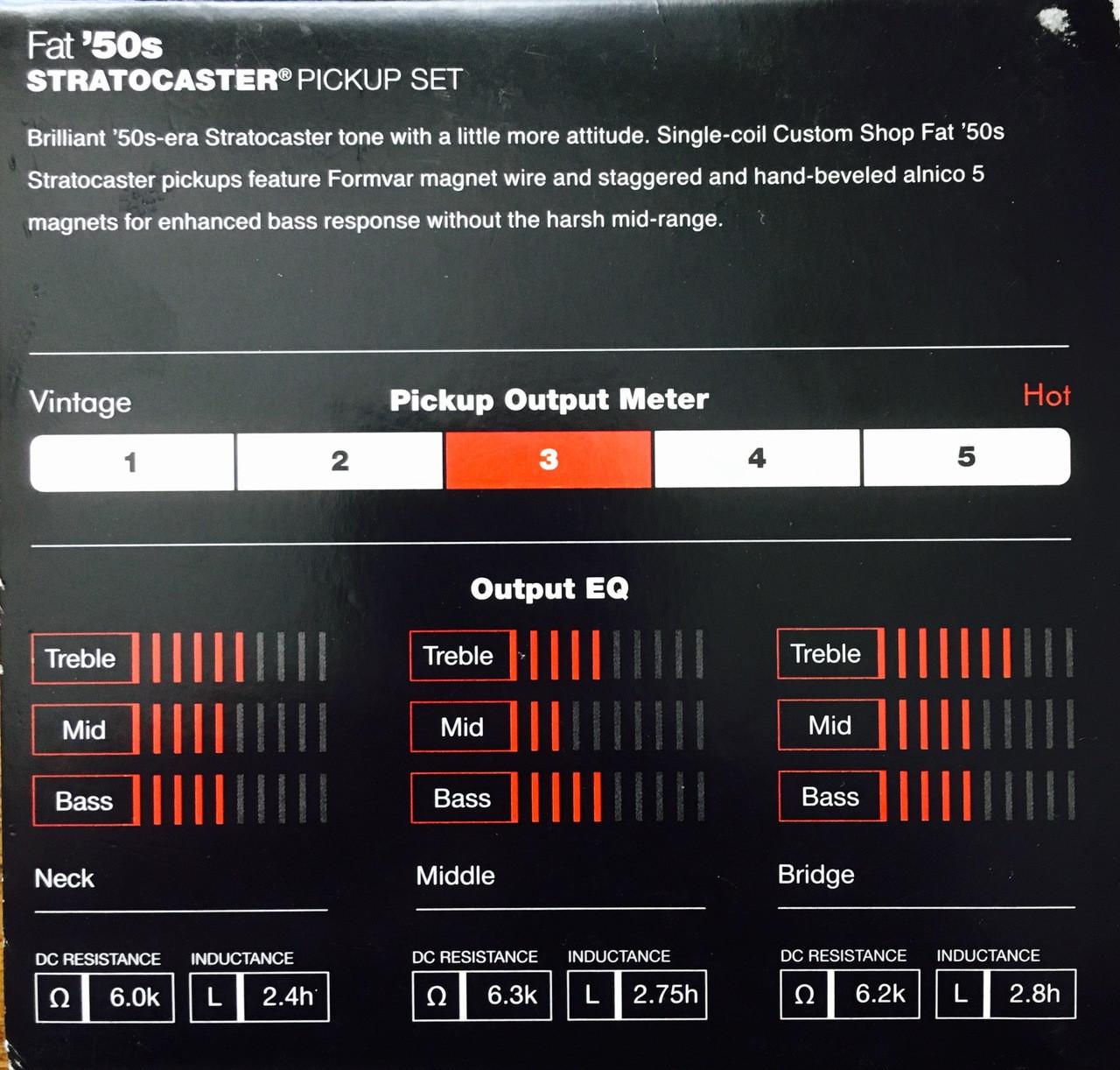 [DIAGRAM_38IU]  Fender Custom '50s Strat Pickups | GimmeSomeStrings | Fender Fat 50s Wiring Diagrams |  | GimmeSomeStrings