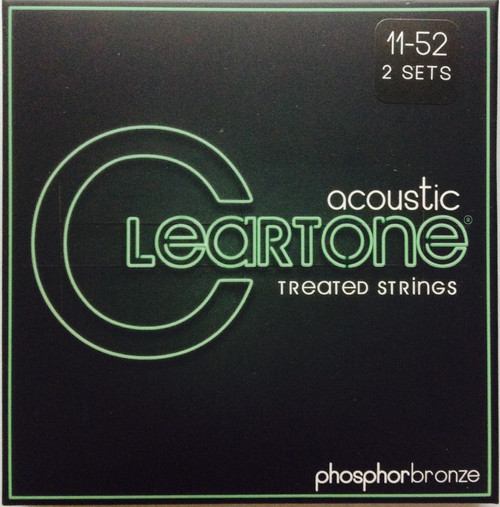 Cleartone Phosphor Bronze Acoustic Guitar Strings 2-pack