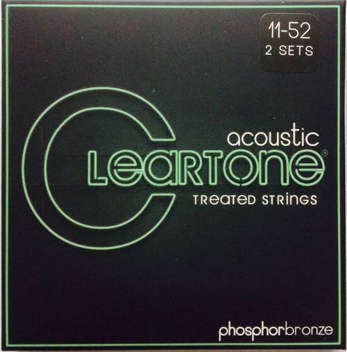 Cleartone Phosphor Bronze Acoustic Guitar Strings 2-pack