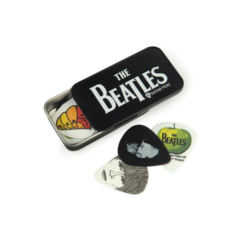 The Beatles Logo Pick Tin - Medium picks 15-pack